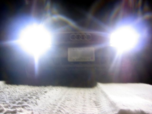HIDs at night