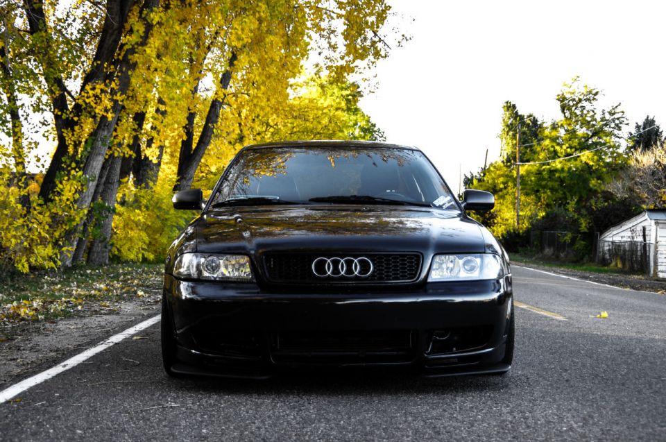 2000 Audi VR6T B5 Avant Black - For Sale Audizine - YouTube