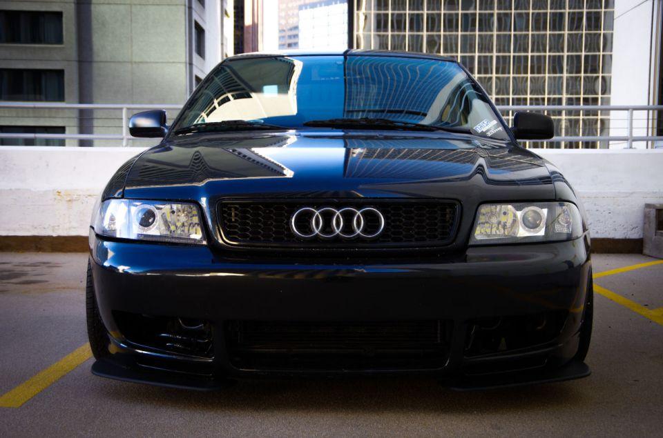 Black Audi B5 A4