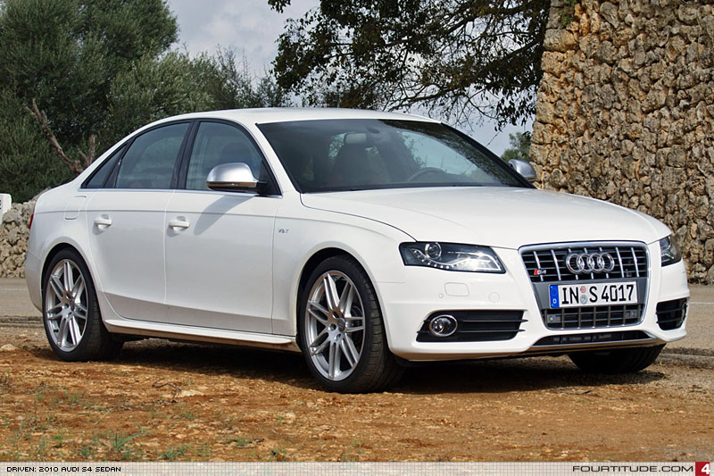 2010 Audi S4 B8 V6t First Arrival Expected August