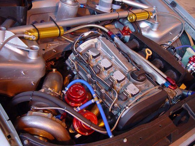 Matrix Integrated B5 Race Car Pics
