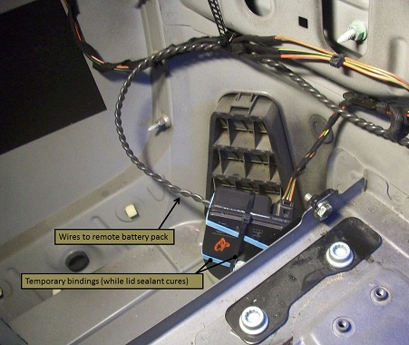 Locked Keys In Trunk >> Alarm Beep Stop Working? DIY Fix & Some Pics - Page 2