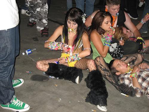 Asian puke fest