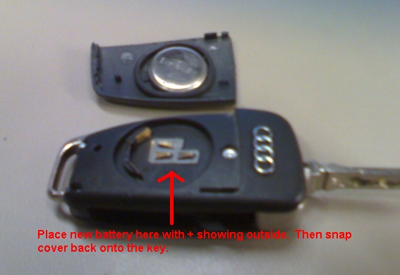 Diy Battery Replacement On Keyless Entry Key Fob