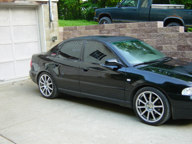 2000 Black A4 tinted windows? on audi a4 gray interior, audi a4 panoramic sunroof, audi a4 traction control, audi a4 bug deflector, audi a4 custom paint jobs, audi a4 5 speed transmission, audi a4 lip kit, audi a4 headlight tint, audi a4 with sunroof, audi a4 ac, audi a4 headlight washer, audi a4 red calipers, audi a4 smoked tail lights, audi a4 leather seats, audi a4 1.8 engine, audi a4 bose sound system, audi a4 dual exhaust, audi a4 steel wheels, audi a4 premium wheels, audi a4 6 speed,