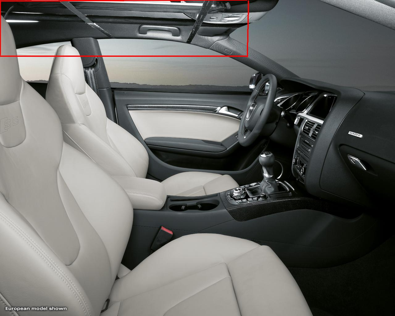 Audi usa a5 s5 site is up for Interieur cuir audi a4