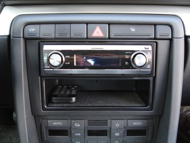 Aftermarket single din head unit pics installed in my b7 for Mueble 2 din audi a4