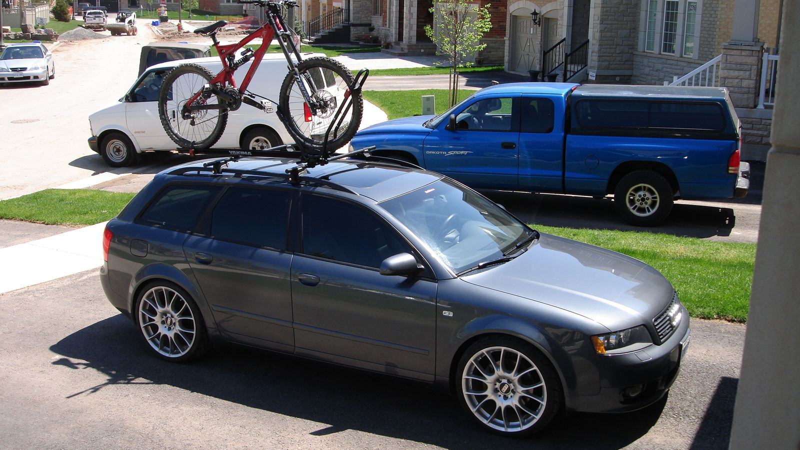 avant roof rack dolphin a4 bike yakima gray users 8t mods steve system audizine