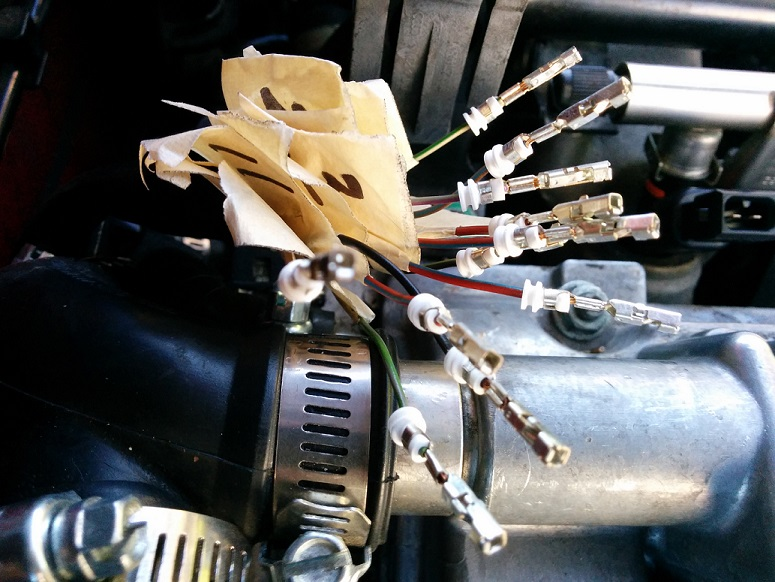 B6 1.8T Detachable Fuel Injector Harness DIY [Archive ... Wiring Pack Harness Coil Performancebyie on