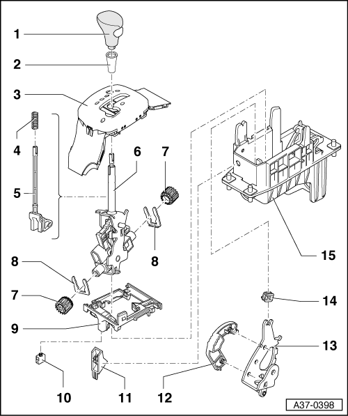 service manual  how to install shifter mechanism 2002