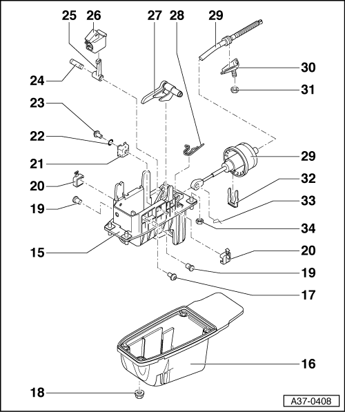 Help For Auto Shifter Dis Assembly Or Tiptronic Help