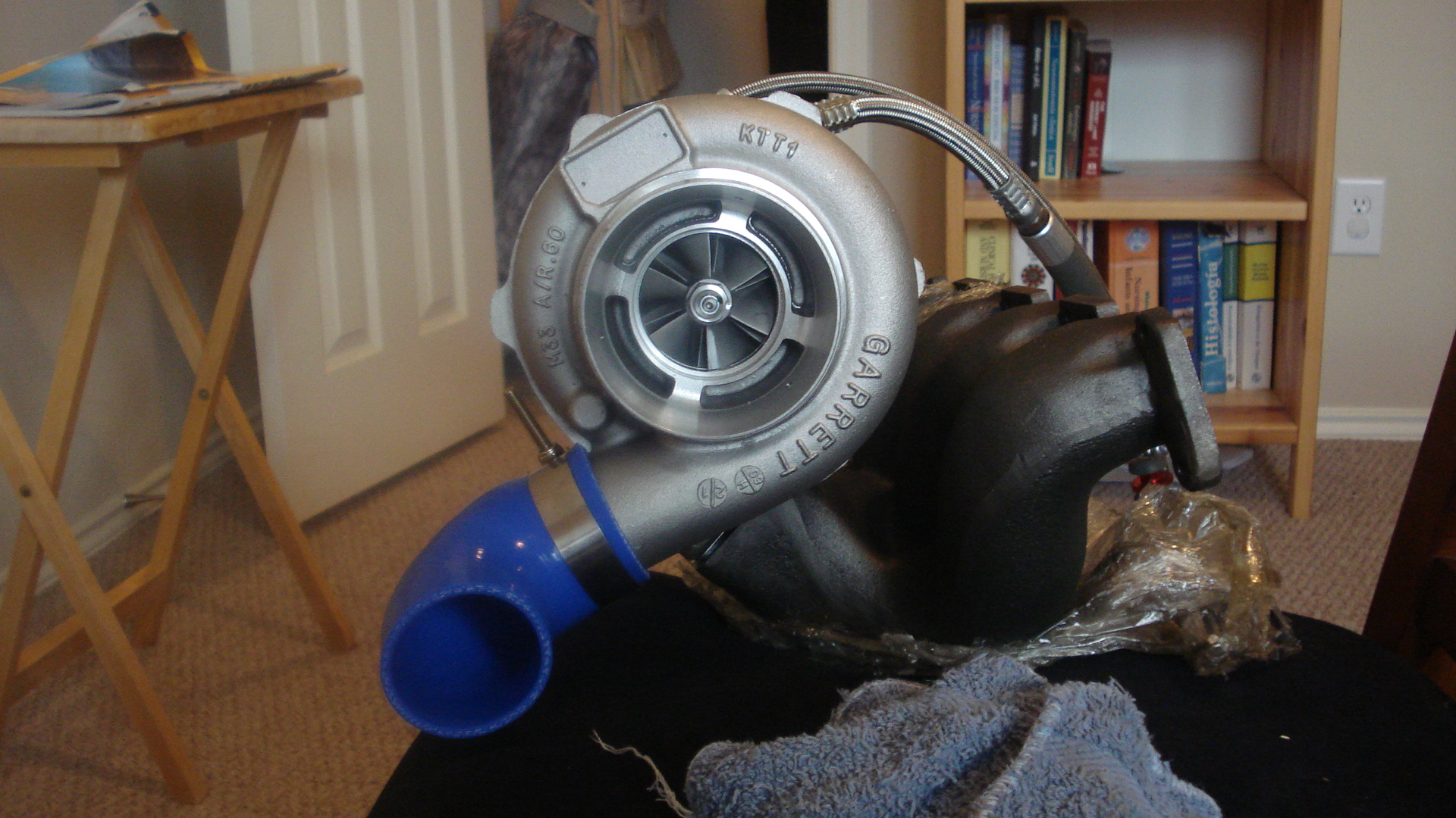 N75 with external wastegate