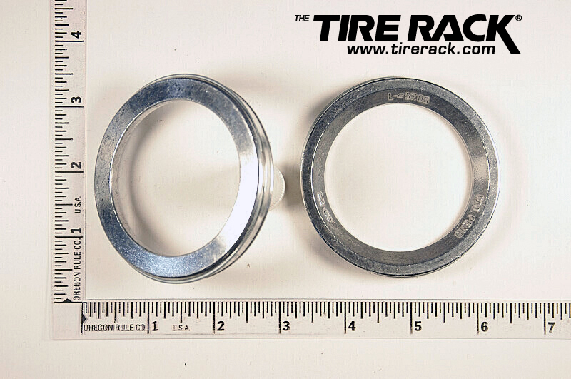 Picture Of Tire Rack Aluminum Hubcentric Ring On My Bmw E28 5 To Allow Use Later Model Wheels
