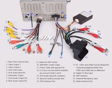 Show me your B7 aftermarket Nav installs- [Archive] - Page ... Mtce Android Head Unit Wiring Diagram on