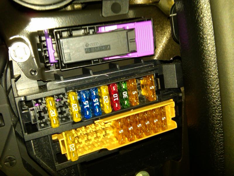 will the  quot mod640 quot   quot servotronic fuse quot  work on a 2005 a6