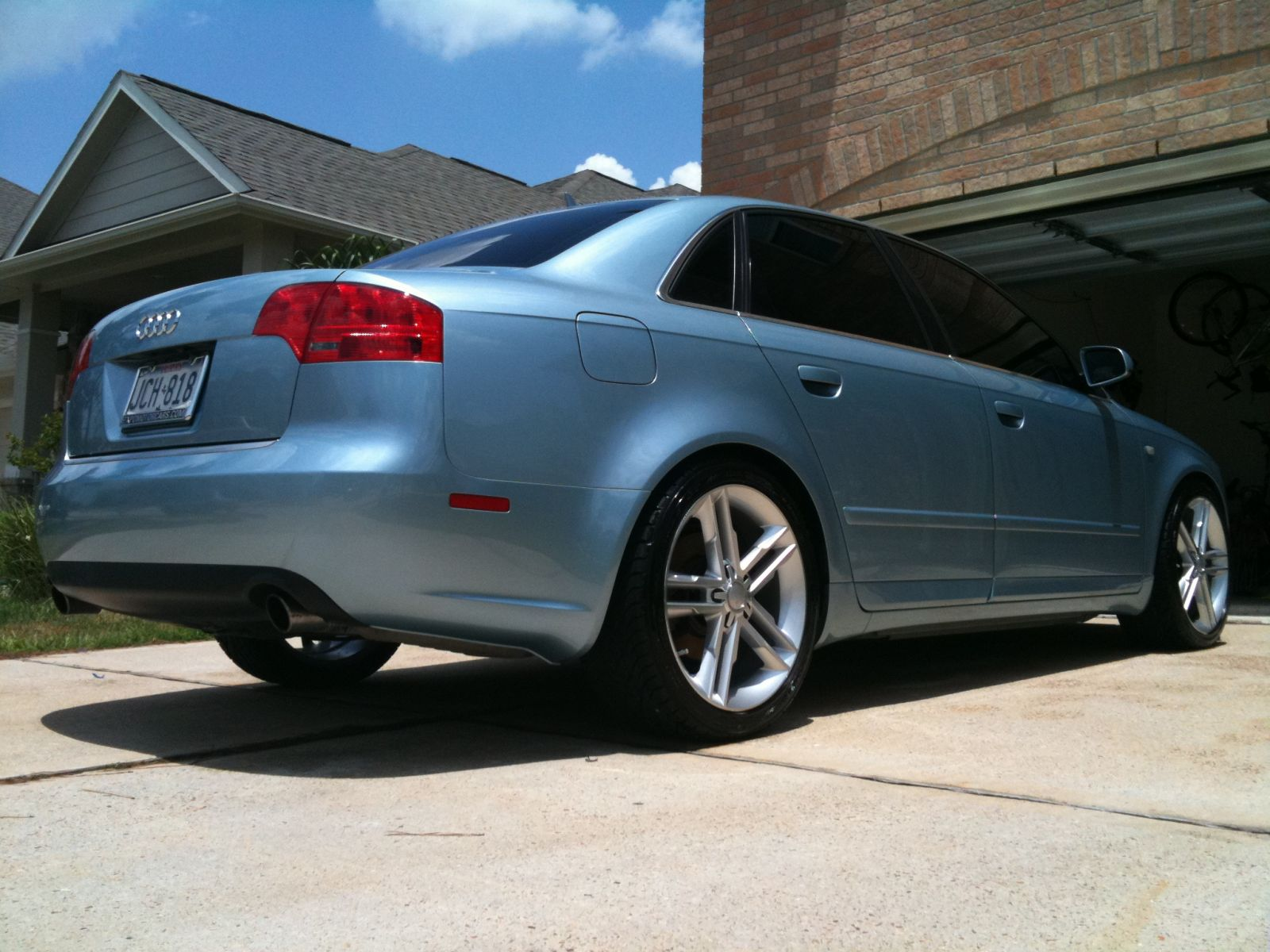 My Liquid Blue Metallic A4