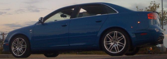 audi s4 sedan. 2008 Audi S4 DTM Sprint Blue