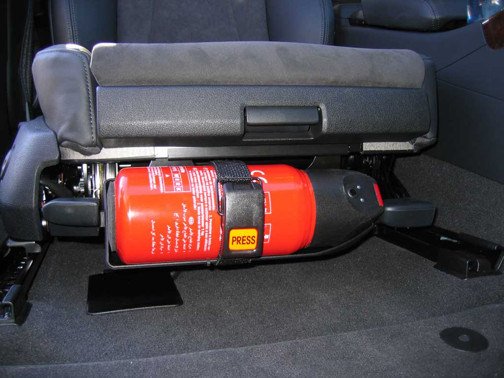 Retrofits: OEM Audi Fire Extinguisher, Umbrella, Vest ...