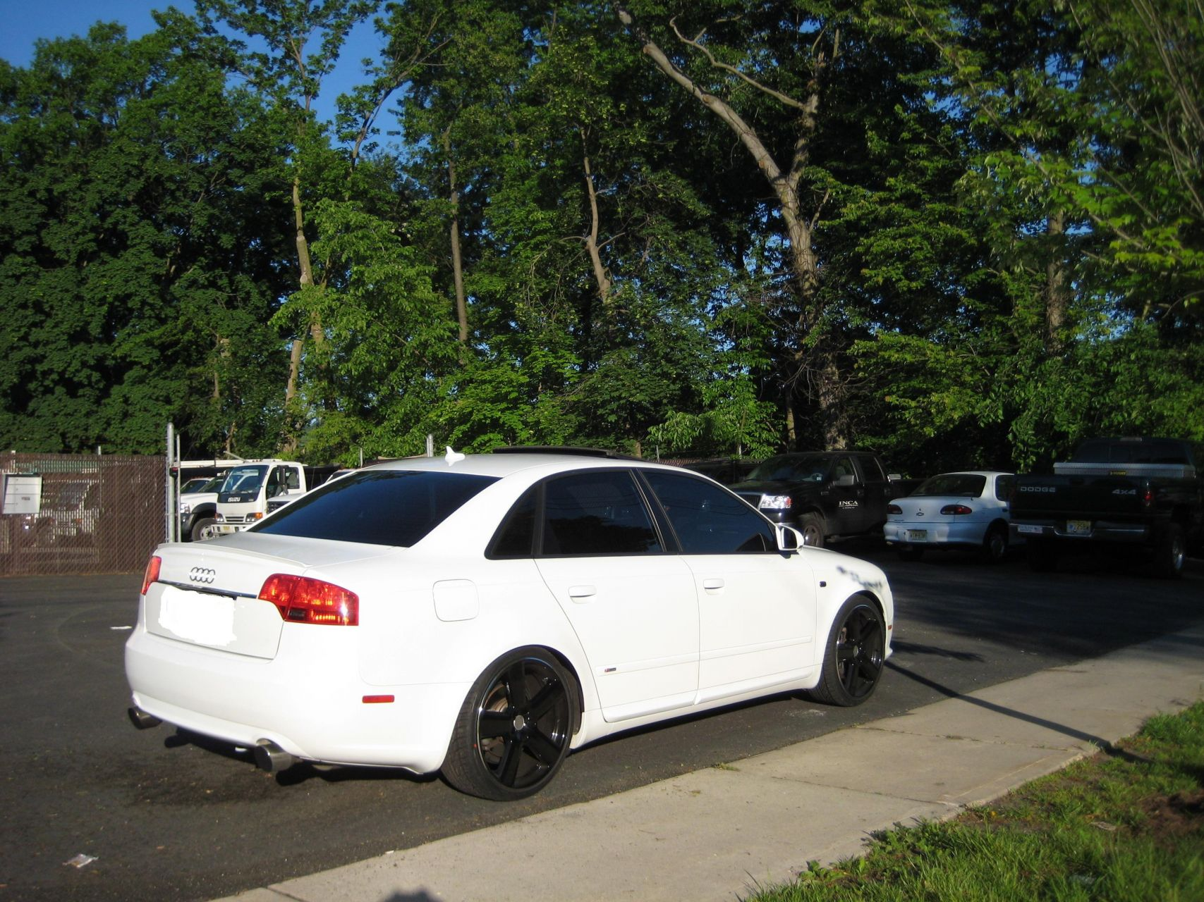 Anyone Have 19 Rs6 Wheels On Their B7 Audi A4 White Black Rims Here Is My Car