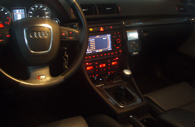 iPod Classic in an Audi S4 | iLounge Forums