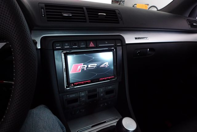 Kenwood Dnx7140 Navigation Dvd Radio Installed Into B7