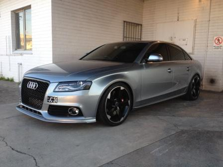 Audi A4 To Rs4 Grill Question