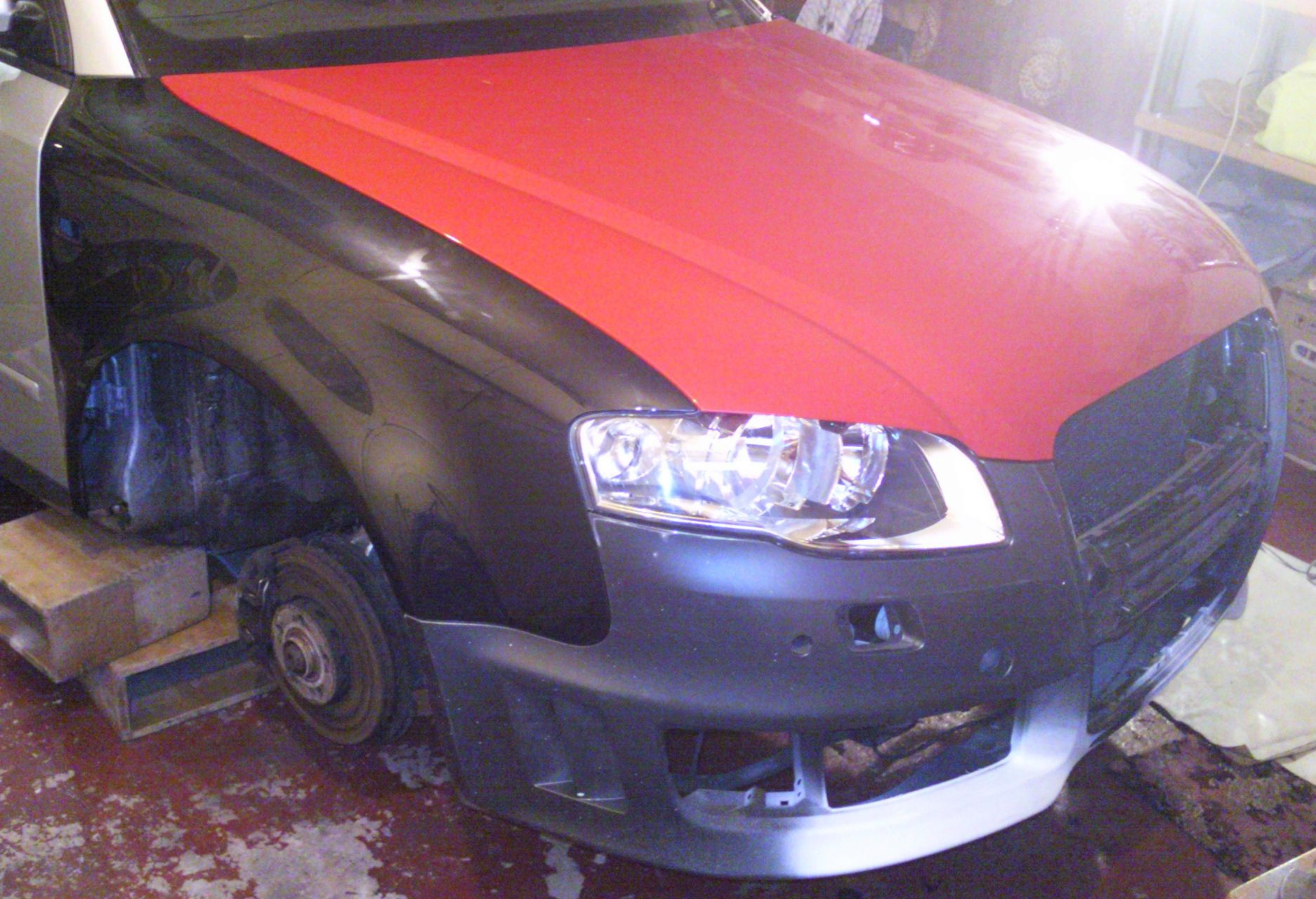 Audi A4 B6 To B7 Rs4 Widebody Replica Conversion Build Diary And Headlight Wiring Diagram Archive Audizine Forums