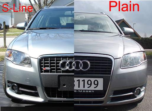 How Does S Line Exterior Styling Differ From Plain B7