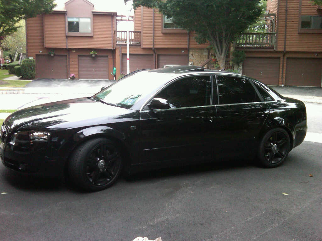 Blacked Out Audi A4 2009 Www Imgkid Com The Image Kid