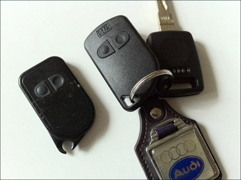 Got Myself A New Key And Alarm Fob For The Ur S6 Like A