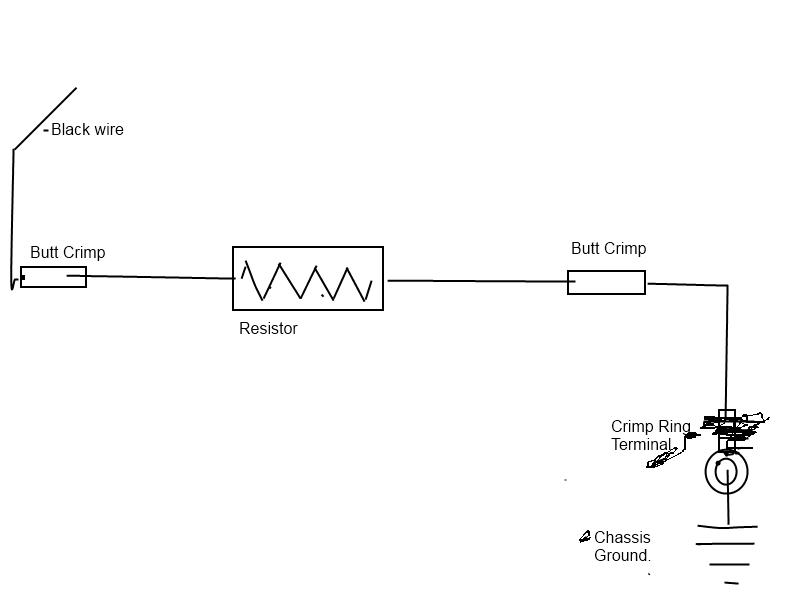 resistor for parking lights
