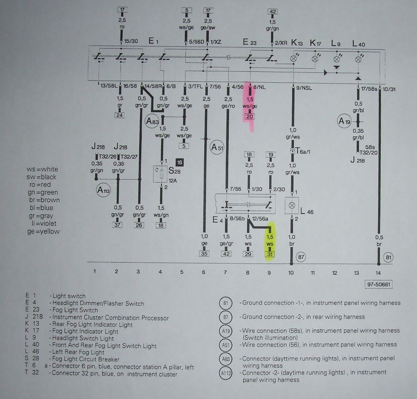 Euro Switch Wiring Diagram Data 5 Wire Headlight Relay Page 3 Power