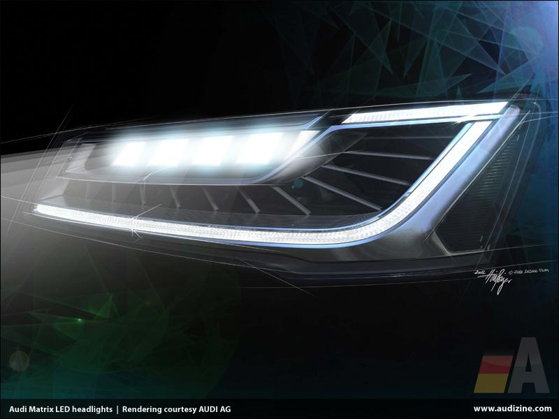 Gallery For > Audi Led Lights Wallpaper