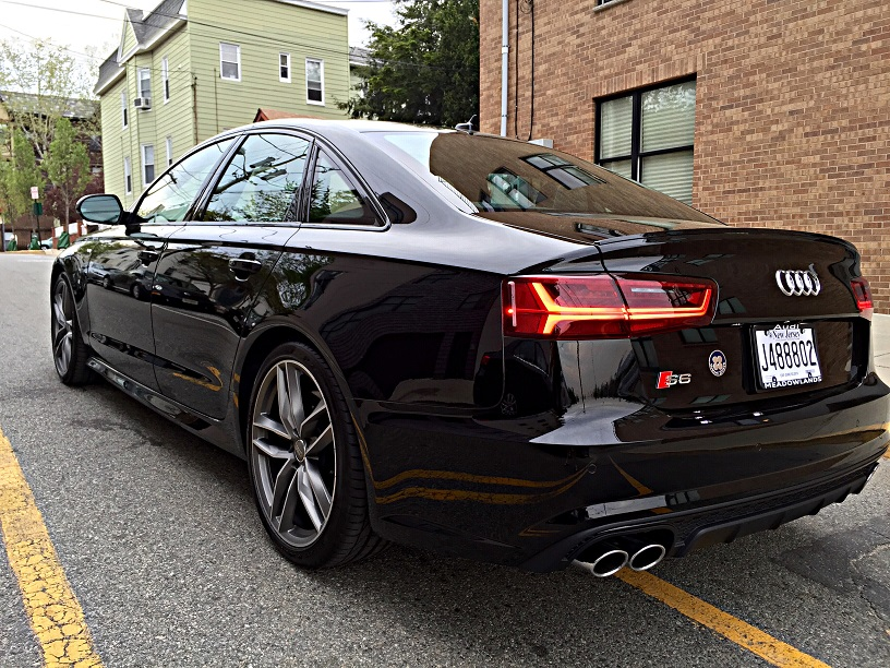 Audi s6 black optics