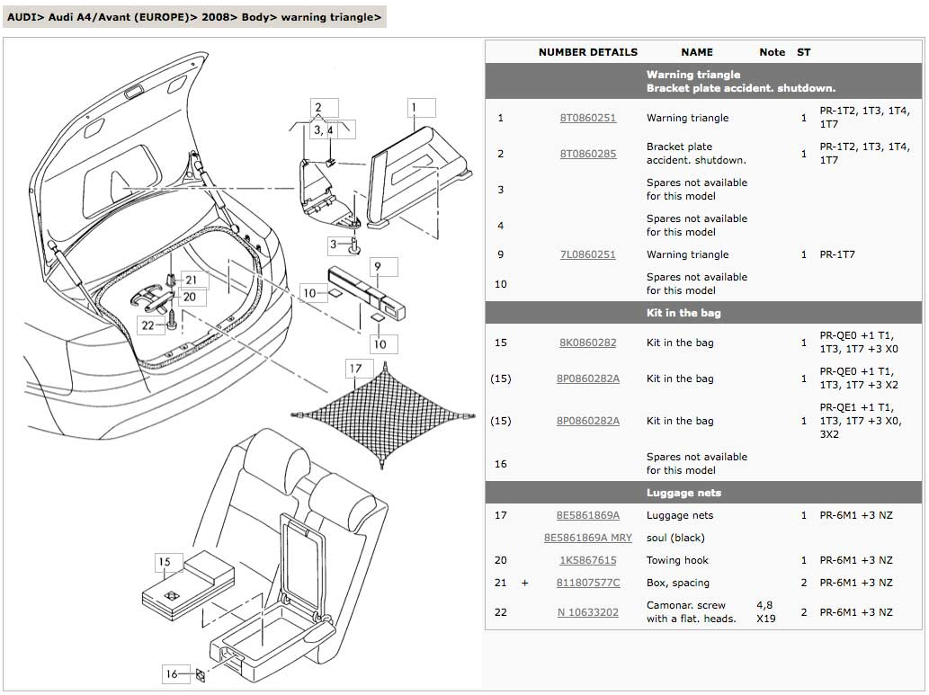 Audi A4 Parts Diagram Http Wwwebaycouk Itm Audia4s4cabriovw
