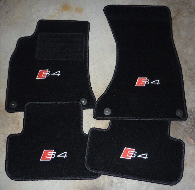 audi s4 floor mats carpet vidalondon. Black Bedroom Furniture Sets. Home Design Ideas