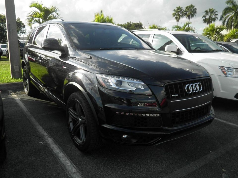 My new Q7 S Line w/ Black-Optic exterior package - AudiWorld