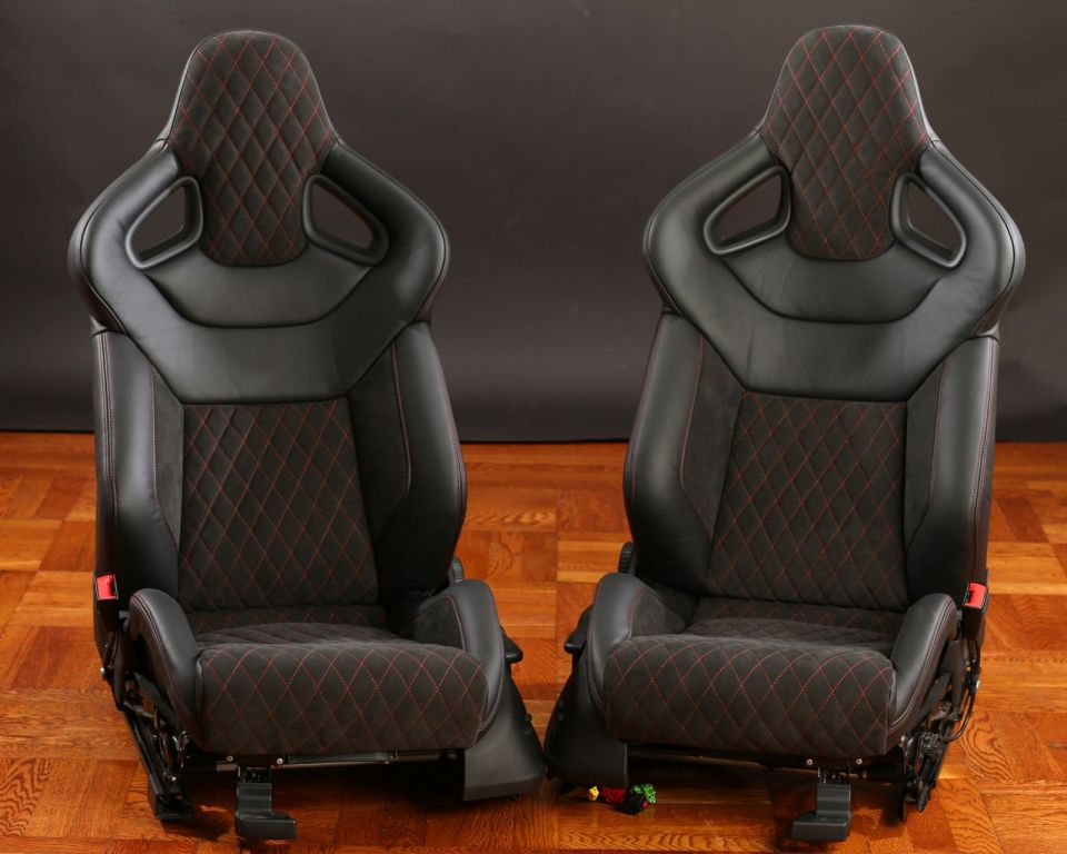 Custom 1 Off Euro R8 Sport Seats