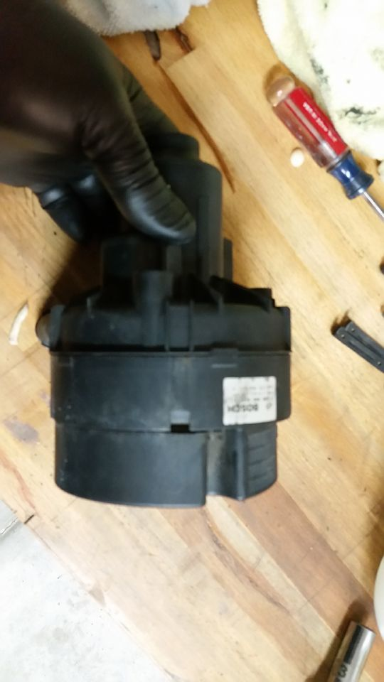 how to take impeller off davey pump