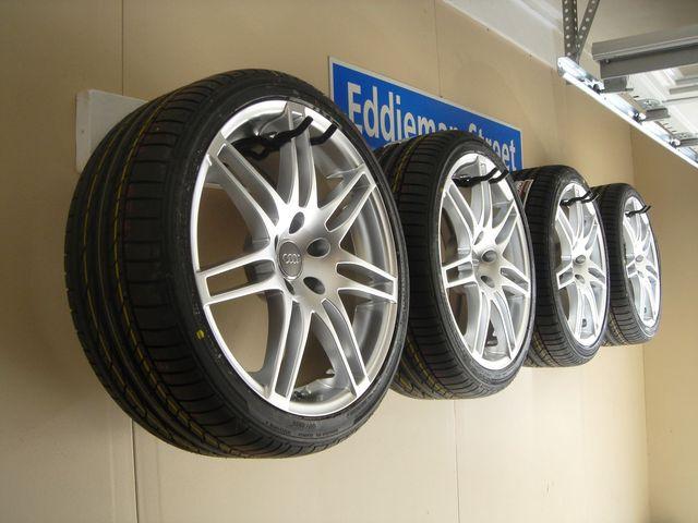 garage based tire hanging revscene automotive forum. Black Bedroom Furniture Sets. Home Design Ideas