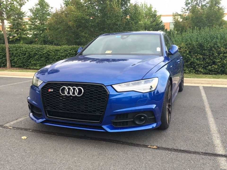 Ecs Rs6 Grill Installed C7 5 S6