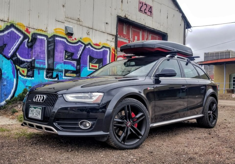 Build An Audi >> Taylor S Black Red 2013 Allroad Build