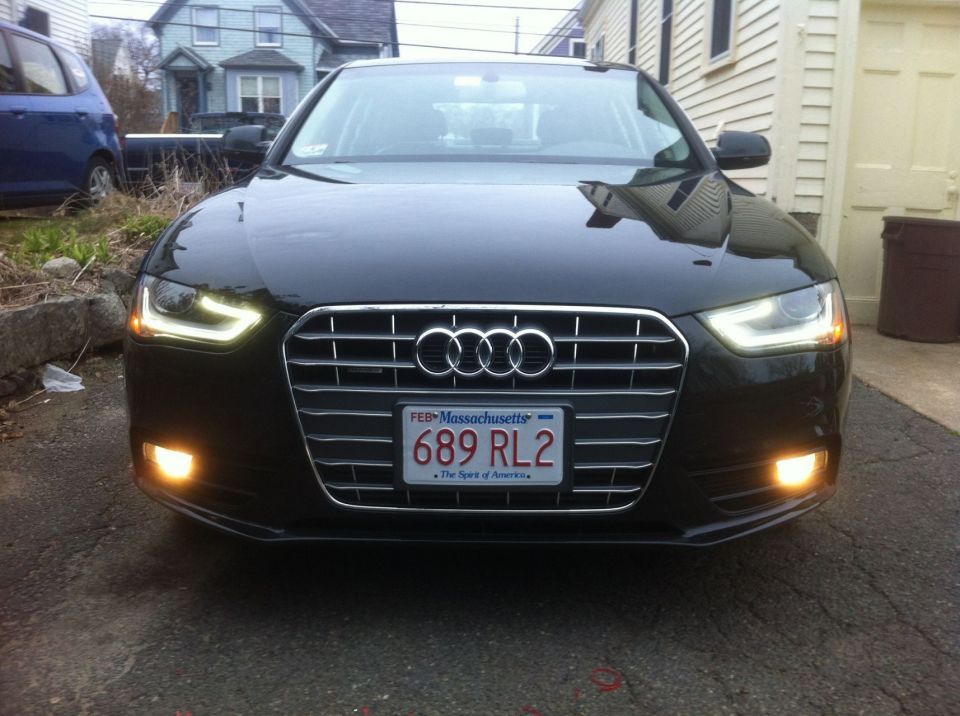 2013 A4 Chrome Grill Inserts Thoughts