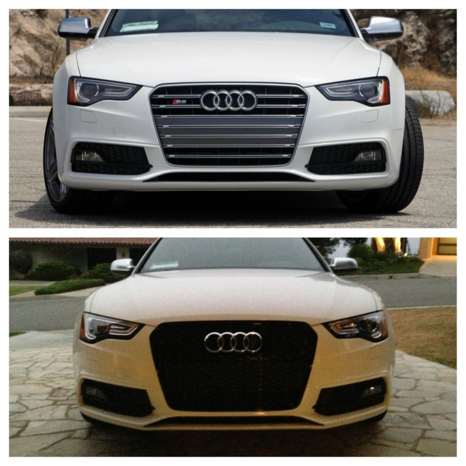 Tuned Audi Rs5: .:Eurocode Tuning:. Group Buy, Genuine Audi RS5 Grill