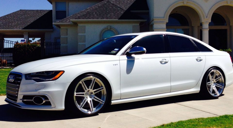 2013 S6 Fitted With Axis 20 X10 5