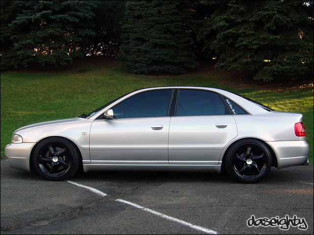 audi s4 b5 black. Re: B5 A4 Wheel and Suspension