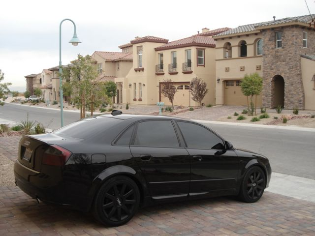 Przyciemnione Ori Lampy Tył Czarny Sedan B6 Audi A4 B6