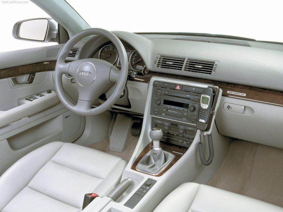B6 interior 2001