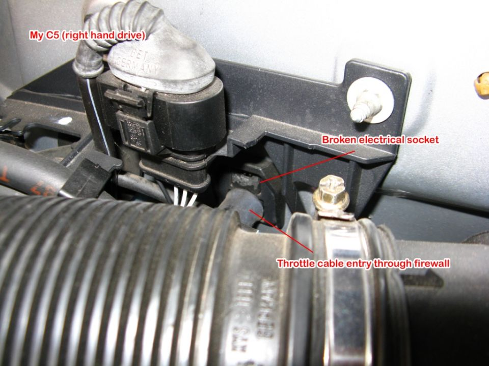Unknown C5 2.8 engine bay plug and connection