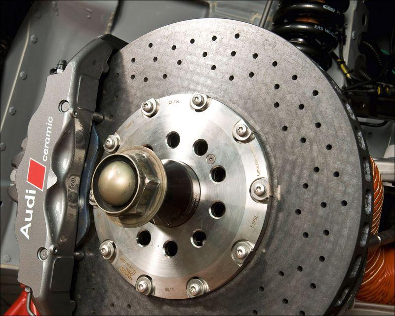 The Audi R8 LMS braking system - 1280x1024